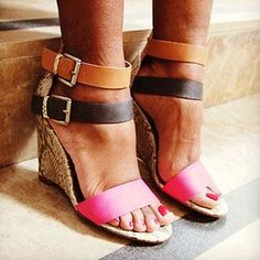 You'd never guess these trendy wedges are only $35!!!