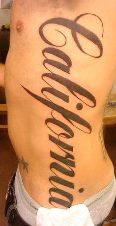 Tattoo writing idea