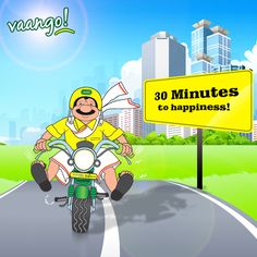 #Vaango delivers food in just 30 minutes*, or its #free!! http://www.vaango.in #HomeDelivery