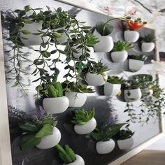 1 ST DIY Kunstmatige Siliconen Vetplant Magneet Voor Huis Hotel Party Decoratie Bonsai 10 Types