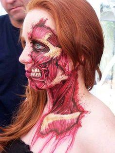 Zombie Make Up - http://www.dravenstales.ch/zombie-make-up/