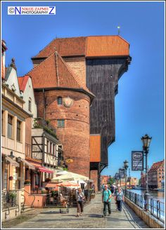 Old Dock Crane, Gdansk -