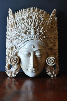Hey, I found this really awesome Etsy listing at https://www.etsy.com/listing/182794651/vintage-bali-carved-mask-ornate-hand