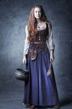 "However long it takes, Marina Ruy Barbosa as Amália in ""Deus Salve o Rei""..."