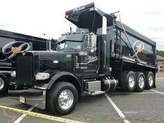 Triaxle Dump Truck Ideas For 2019 Hot Rod Trucks, Big Rig Trucks, Dump Trucks, Truck Flatbeds, Truck Bed Camper, Custom Big Rigs, Custom Trucks, Peterbilt Trucks, Chevy Trucks