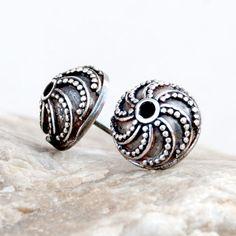 Echidnas A362 - silver earrings,Silver earrings, romantic earrings, gift, stud earrings, handmade, silver sticks by Artseko on Etsy