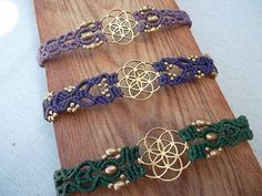 Seed of life The power of Sacred Geometry Macrame by LunaticHands
