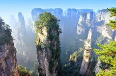 #Tianzi Mountains, #China #Avatar - Google Search