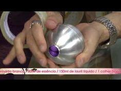 APRENDA A FAZER SABONETE PERSONALIZADO! globe with hearts inside - YouTube