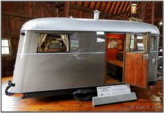 "1937 Covered Wagon ""Conestoga"" Camping Trailer  (1) by mrkyle229, via Flickr"