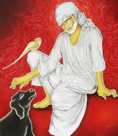 Sai Baba- an unexplored subject......  VISIT BLOG- https://ocherart.wordpress.com/2014/07/07/sai-baba-an-unexplored-subject/