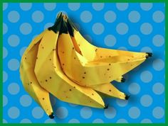 Day353: Master the craft of origami by creating a hand of DOLE Bananas. #Go366