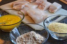 Glutenfri matblogg: Steke fisk glutenfritt