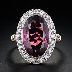 incredible tourmaline jewelry | Large tourmaline and diamond ring | Incredible Jewelry