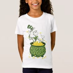 Dr. Seuss   Cat in the Hat - Happy St. Cat's! T-Shirt - tap, personalize, buy right now!