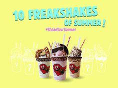 海外、日本でも大人気のクッキー専門店「Cookie Time」から夏限定のフリークシェイクシリーズが登場! | NEWS | HARAJUKU KAWAii!! STYLE