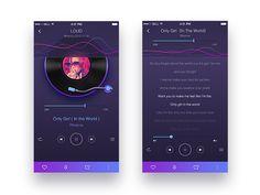 Brautring Sets, Mobile App Ui, Only Girl, One Design, Design Ideas, Make Your Bed, Mobile Design, Interactive Design, User Interface