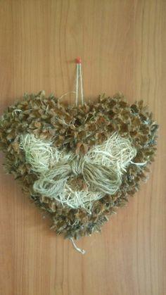 Moje srdce z lesných plodov