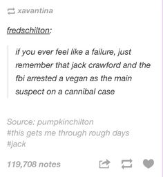 Jack's failure << I think about this when I'm having a bad day