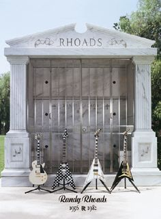 Tomb of my Superman. God,still hurts after all these years. R.I.P. Randy Rhoads
