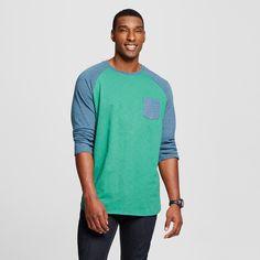 Men's Big & Tall 3/4 Sleeve Baseball T-Shirt - Mossimo Supply Co.