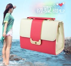 The new 2014 ms han edition hand the bill of lading shoulder inclined shoulder bag bag trend colours woman messenger bag fashion