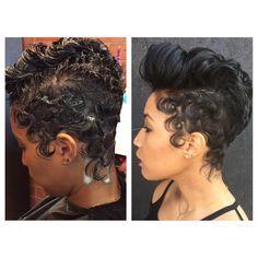 Medium Hair Styles, Curly Hair Styles, Natural Hair Styles, Short Styles, Haircuts Straight Hair, Short Hair Cuts, Short Pixie, Dope Hairstyles, Cute Hairstyles For Short Hair
