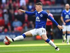 Everton's Gareth Barry: 'Ross Barkley not too worried about England snub'