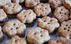 Лимецови сладки с шипков мармалад - Ricetta e preparazione: cucina salutare e vegetariana - Tony's Happy Kitchen