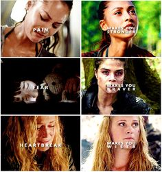 Raven Reyes, Octavia Blake and Clarke Griffin || Ladies of the 100 || Lindsey Morgan, Marie Avgeropoulos || Eliza Jane Taylor