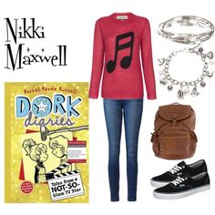 """Dork Diaries: Nikki Maxwell"" by amandajones15206 on Polyvore"