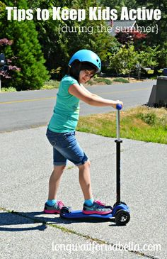 Tips to Keep Kids Active #MicroFriends ad