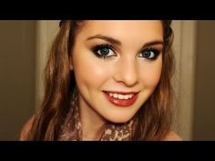 Kristen Stewart Makeup Look! Big Lashes & Vampy Lips! - Jackie Wyers