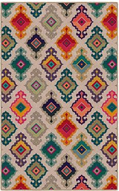 This Brumlow Mills Erica Geometric Diamond Medallions Printed rug gives you the unique look you've been searching for. Textile Pattern Design, Textile Patterns, Textile Prints, Pattern Art, Art Prints, Islamic Art Pattern, Whatsapp Wallpaper, Vintage Design, Geometric Art