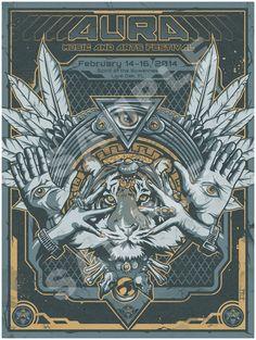 Aura Festival Poster