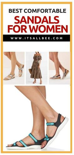 Best Travel Sandals - Comfortable Walking Sandals That Dont Mess Up Your Style Plus Tips On The Most Comfortable Sandals For Walking All Day Best Walking Sandals, Comfortable Walking Sandals, Packing Tips For Travel, Travel Advice, Travel Essentials, Vacation Packing, Packing Lists, Best Travel Sandals, Travel Shoes