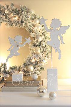 erhältlich hier, http://de.dawanda.com/shop/anavlis , Engel, Holz, Dekoration, Handarbeit, DaWanda, Weihnachten, Silvi K. ,