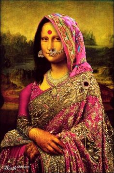 India Mona Lisa. . .