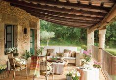 Shabby and Charme: Una romantica casa di campagna in Spagna