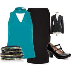 """for church"" by bkngirl56 on Polyvore"