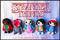 Stranger Things Amigurumi by cristell15.deviantart.com on @DeviantArt