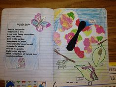 2nd Grade Poetry Journals - integrate science plants.