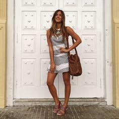 Last night in Colombia❤️ Beautiful Dresses For Women, Casual Dresses For Women, Clothes For Women, Spain Fashion, Ibiza Fashion, Spring Summer Fashion, Spring Outfits, Travel Dress, Boho Girl
