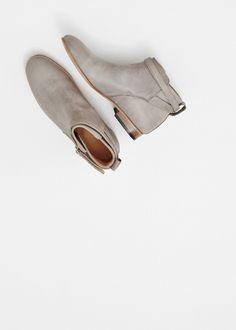 Dieppa Restrepo Mer Flat Ankle Boot (Antilope)