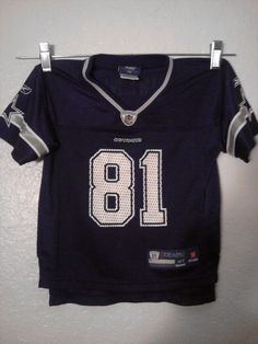 #81 OWENS* DALLAS Cowboys *Authentic *Reebok kids jersey* GREAT CONDITION*SIZE 4T