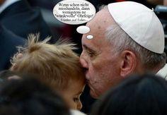 """Papst erlaubt """"würdevolles Schlagen"""" ..."""
