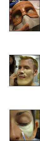 Neill Gorton Prosthetics Studio,  Be a model for a prosthetics class