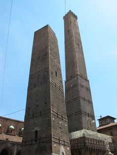 """Bologna's iconic Two Towers - """"Bologna on my mind"""" by @Keith Savoie Jenkins"""