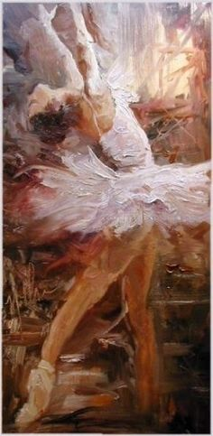 """In Flight"" by Scott Mattlin Oil ~ 22"" x 10"""