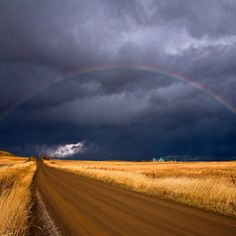 It takes both sunshine and rain to make a rainbow.
